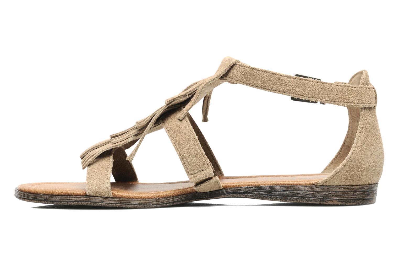 Sandals Minnetonka Maui Beige front view