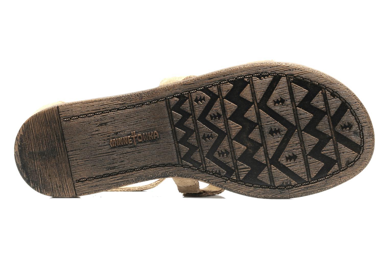 Sandalen Minnetonka Maui Beige boven