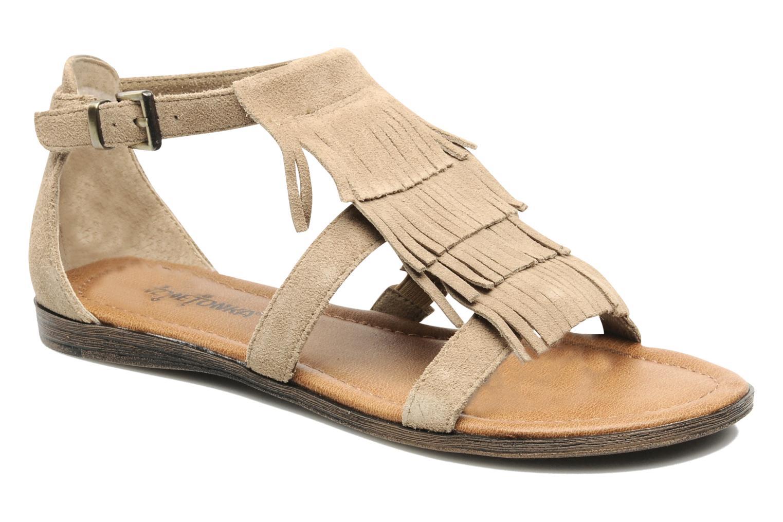 Sandaler Minnetonka Maui Beige detaljeret billede af skoene