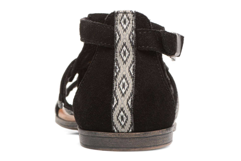 Sandali e scarpe aperte Minnetonka Maui Nero immagine destra