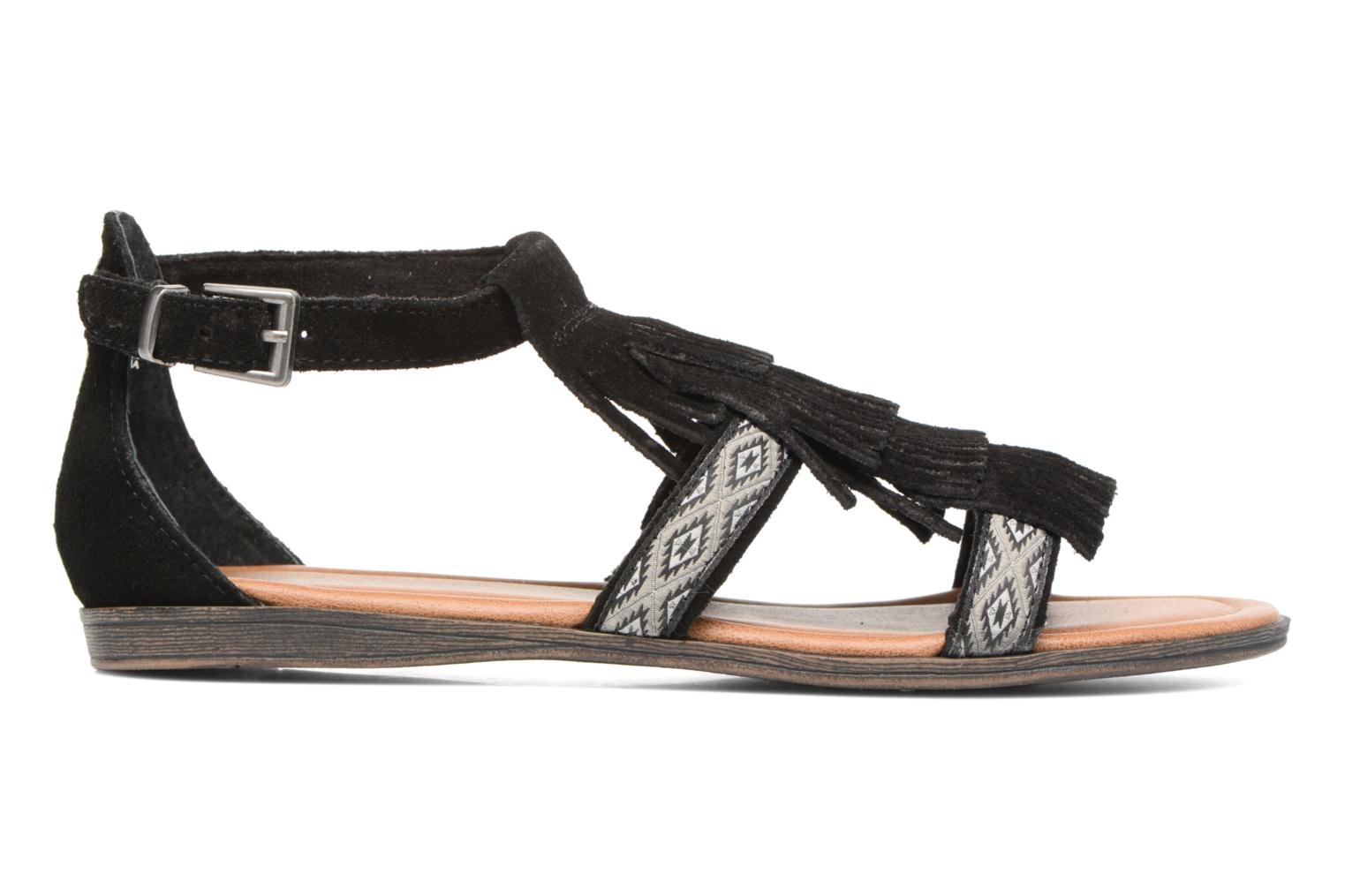 Sandals Minnetonka Maui Black back view