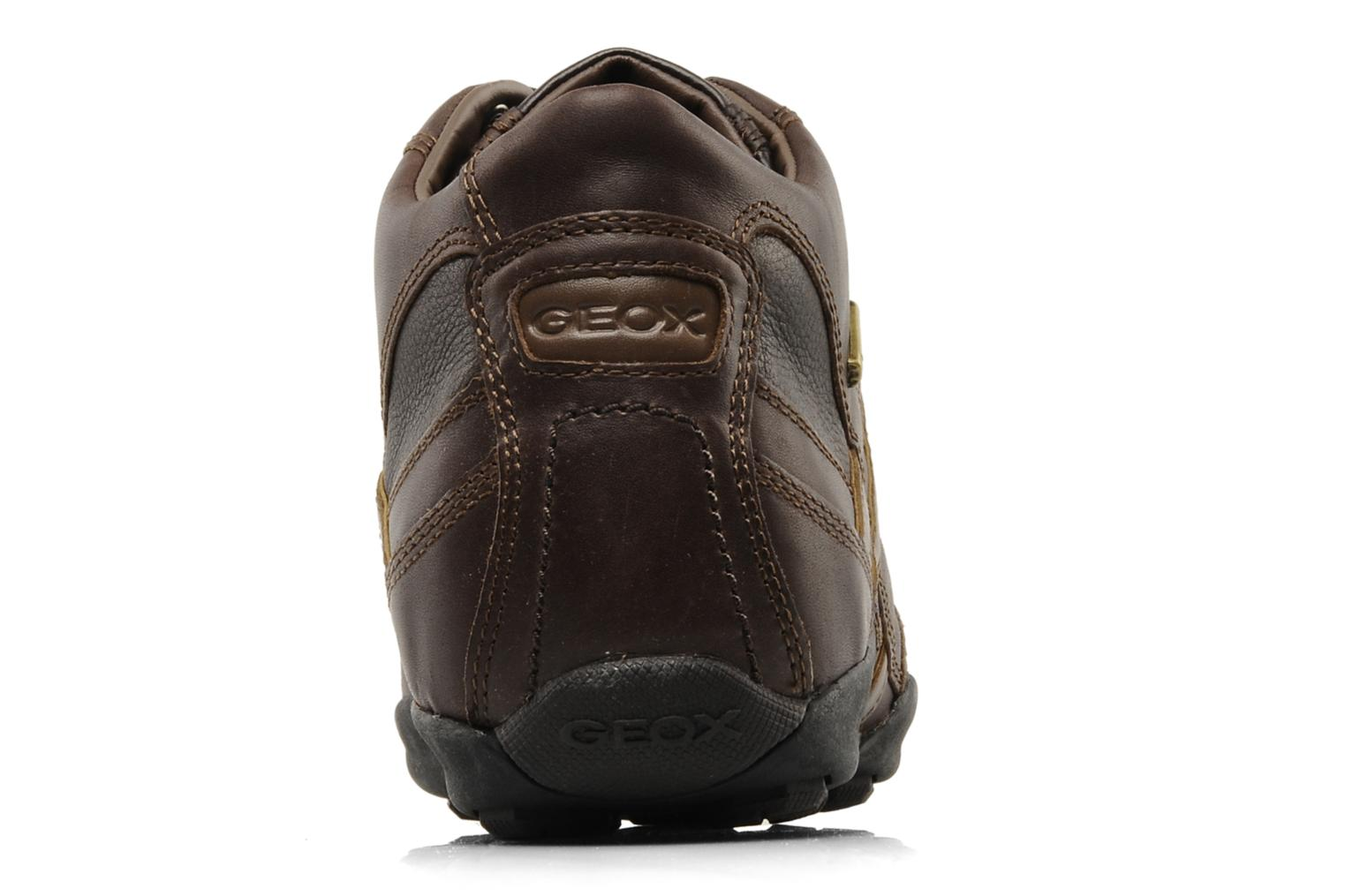 Trainers Geox U New Early Brown view from the right