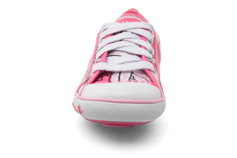 Baskets Skechers Curtsies Rose vue portées chaussures
