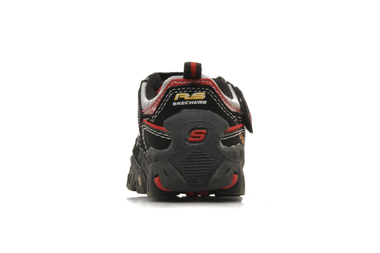 Sneaker Skechers Turbo-s schwarz ansicht von rechts