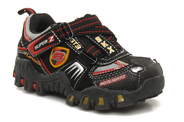 Sneaker Skechers Turbo-s schwarz detaillierte ansicht/modell