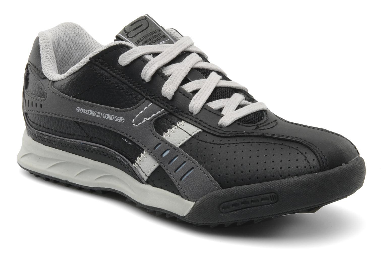 Baskets Skechers Piceno Noir vue détail/paire
