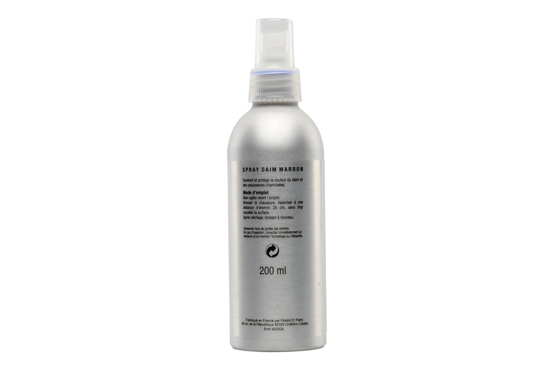 Schuhpflegeprodukte Sarenza care Wildleder Reiniger 200ml-Spray in braun (marron) oder schwarz (noir). braun ansicht von oben