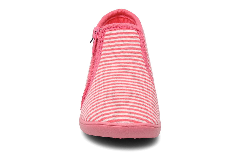 Chaussons Petit bateau PB BORDAN Rose vue portées chaussures