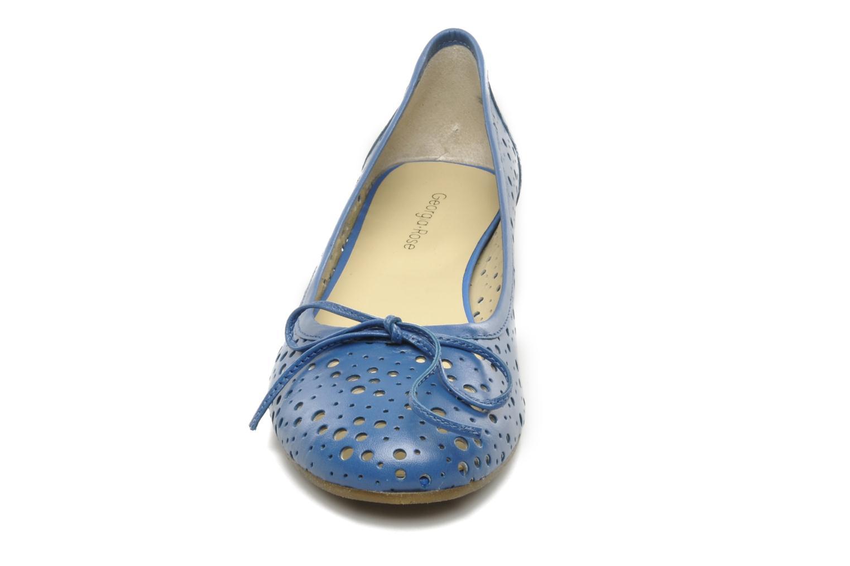 Ballet pumps Georgia Rose Tourine Blue model view