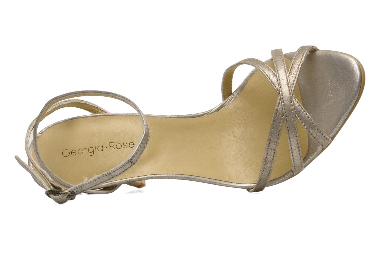 Sandalen Georgia Rose Tomina silber ansicht von links