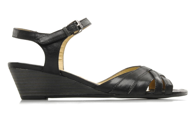 Sandalen Georgia Rose Turaco schwarz ansicht von hinten