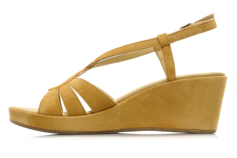 Sandalen Georgia Rose Tomasi gelb ansicht von vorne
