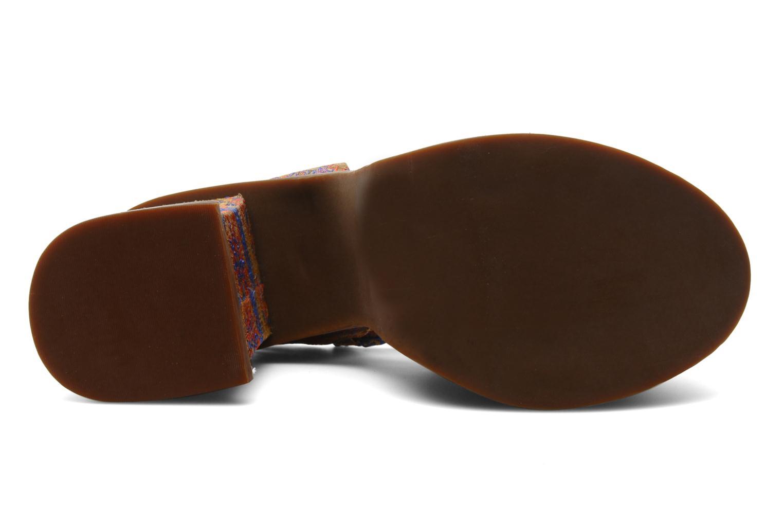 Sandales et nu-pieds Jeffrey Campbell LANDERS Or et bronze vue haut