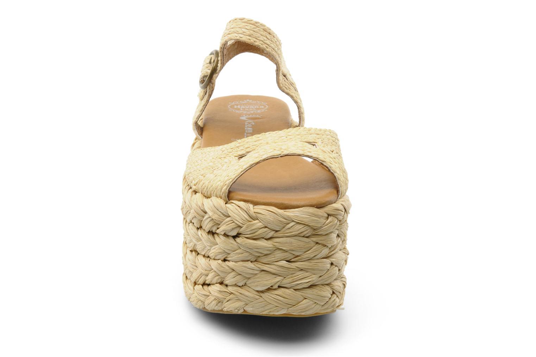 Sandalen Jeffrey Campbell CABO beige schuhe getragen