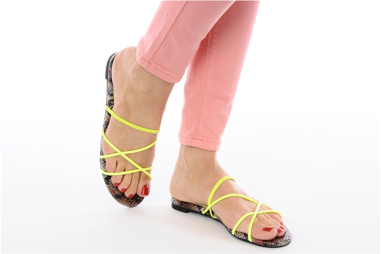 Sandali e scarpe aperte Jeffrey Campbell SPIRAL Giallo immagine dal basso