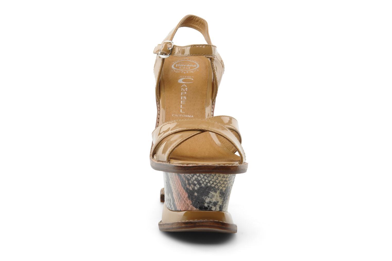 Sandali e scarpe aperte Jeffrey Campbell HARE 2 Beige modello indossato