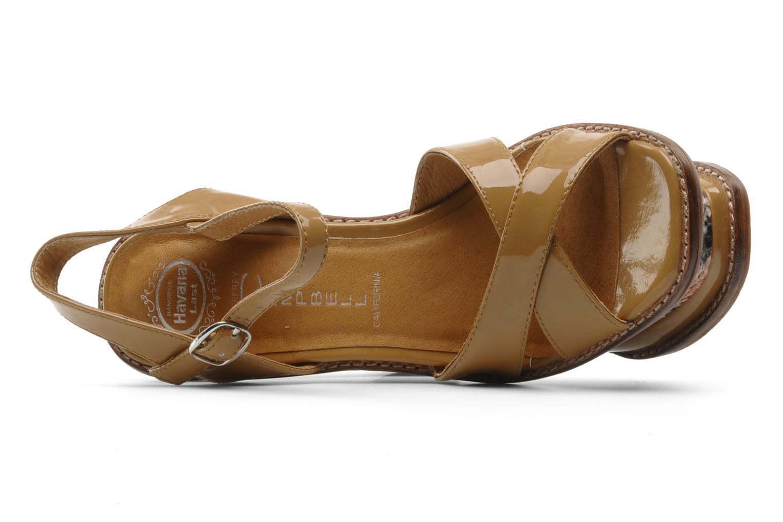 Sandales et nu-pieds Jeffrey Campbell HARE 2 Beige vue gauche