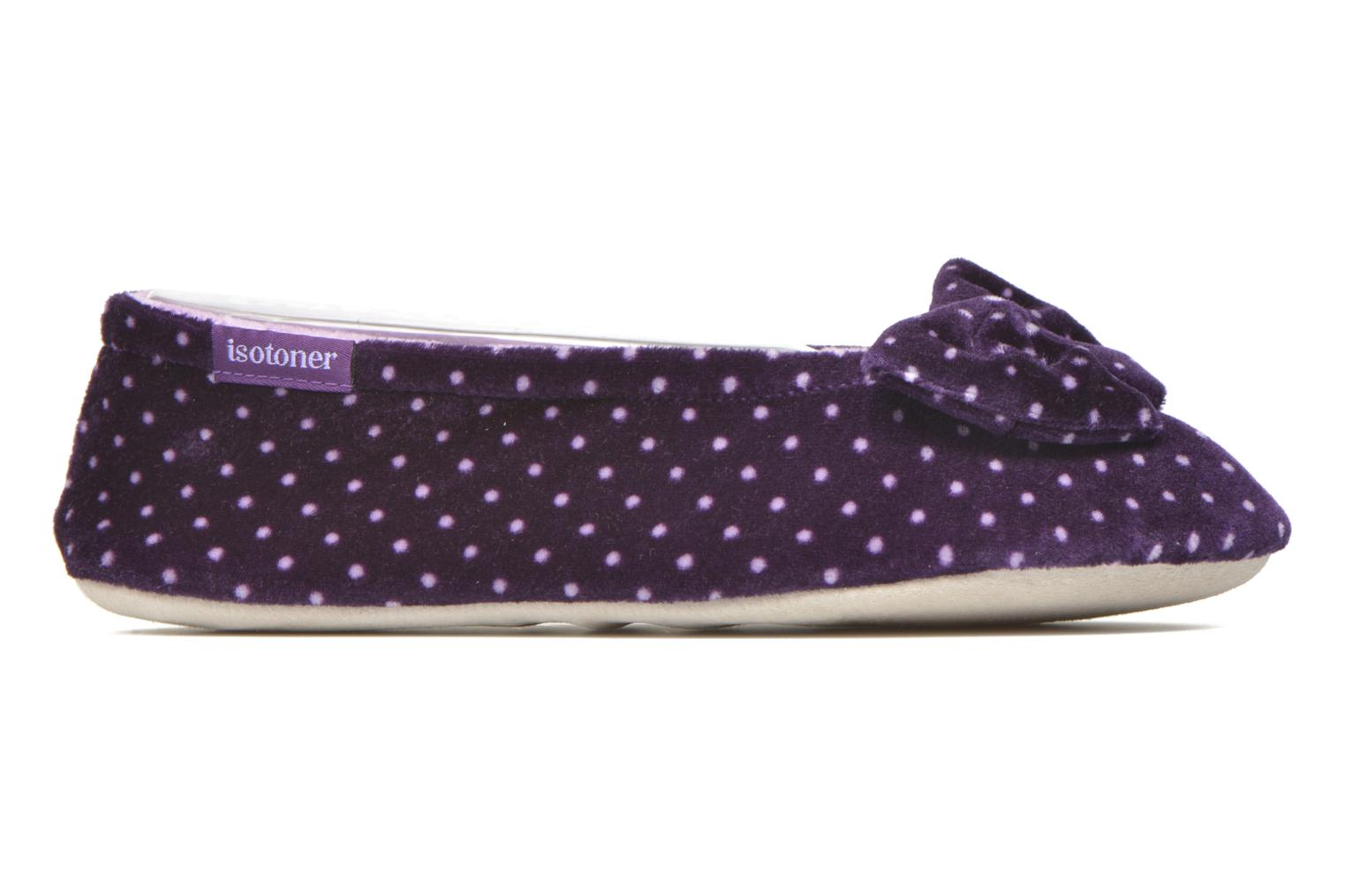 Ballerine velours grand nœud F Multicolore
