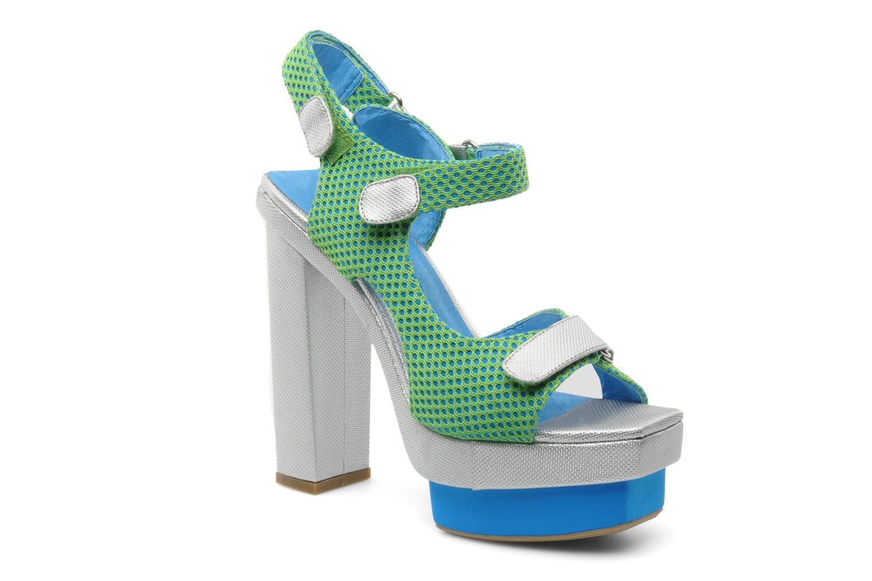 Sandalen Jeffrey Campbell FONDA grün detaillierte ansicht/modell