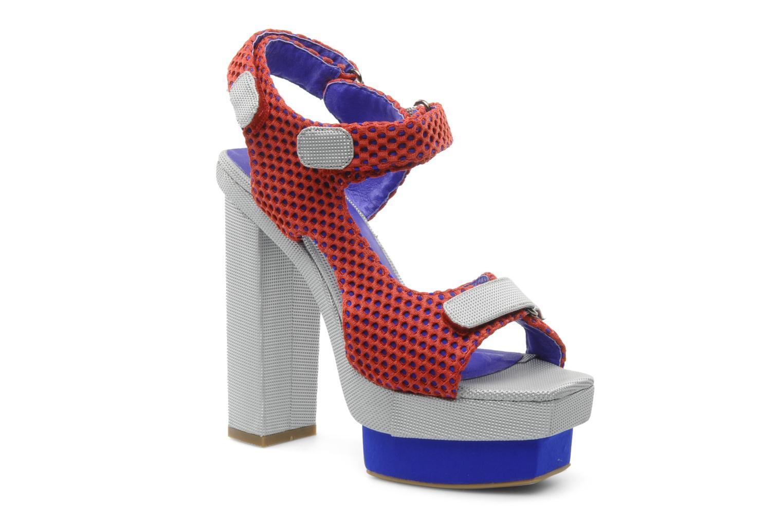 Los últimos zapatos de descuento para hombres y mujeres Jeffrey Campbell FONDA (Rojo) - Sandalias en Más cómodo