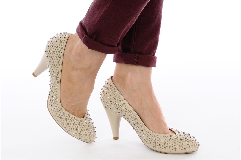 Zapatos de tacón Jeffrey Campbell LANE SPIKE Beige vista de abajo
