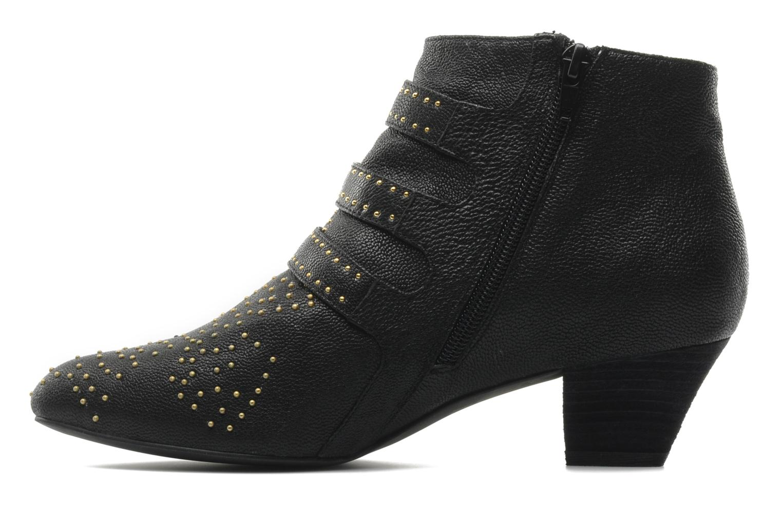 Ankle boots Jeffrey Campbell STARBURST Black front view