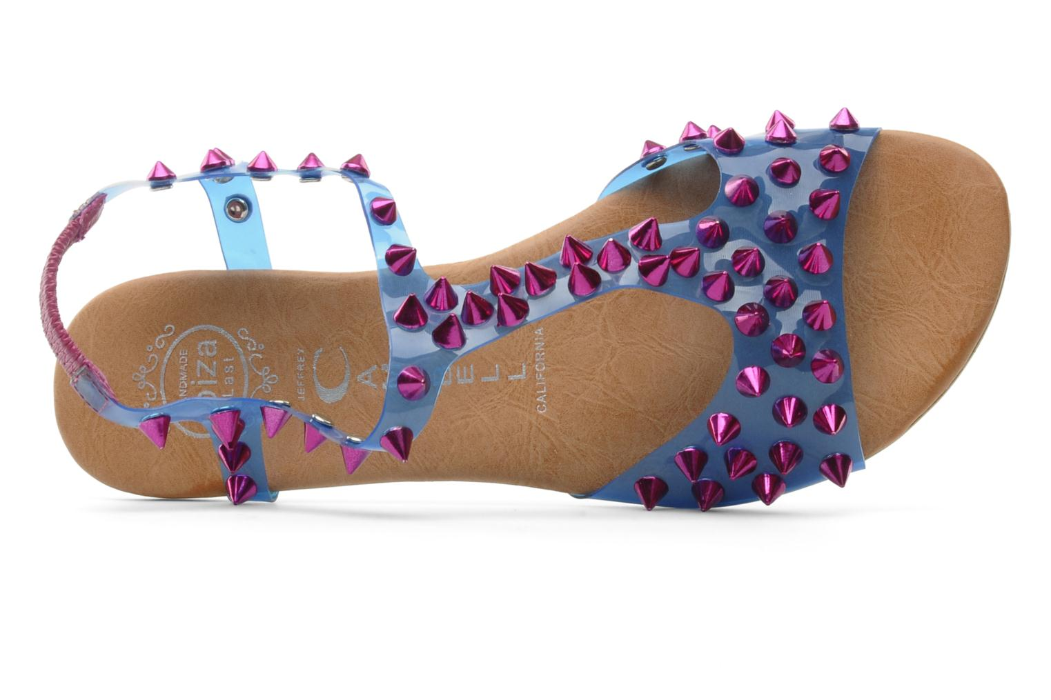 Sandalen Jeffrey Campbell PUFFER Blauw links