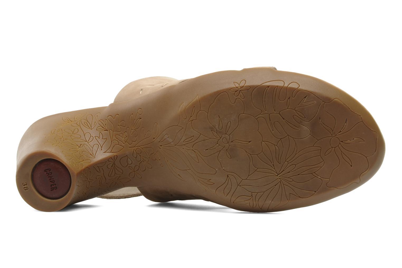 Sandales et nu-pieds Camper Lulu 21415 Beige vue haut