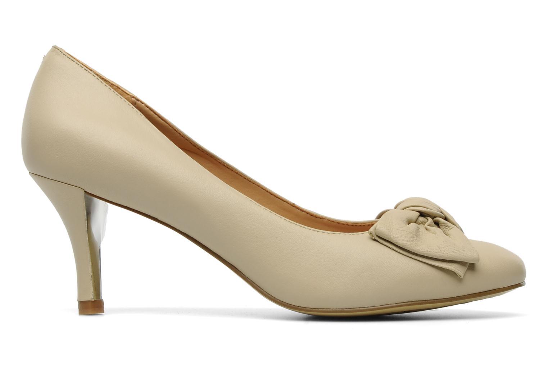 Zapatos de tacón Naturalizer Stev Beige vistra trasera