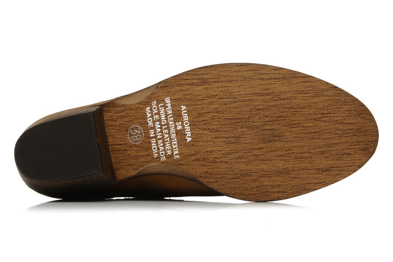 AURORRA Cognac leather
