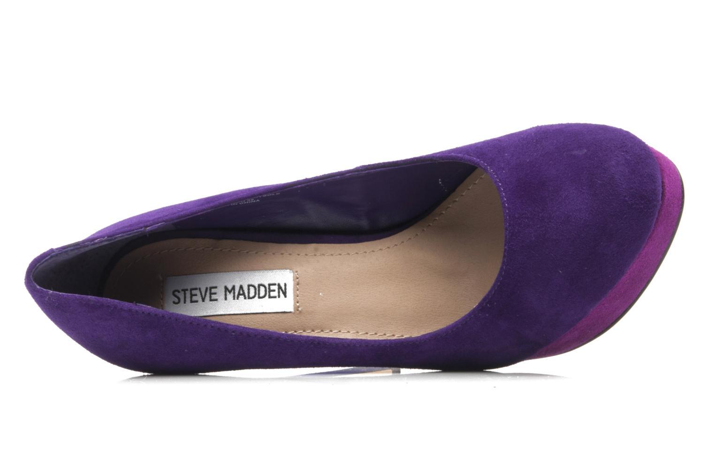 Escarpins Steve Madden BEASST M Violet vue gauche