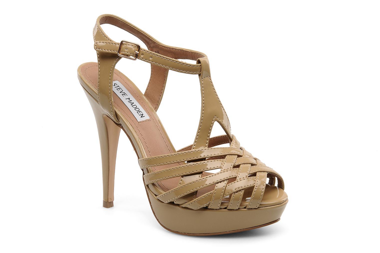 Sandales et nu-pieds Steve Madden HALLELU Beige vue détail/paire