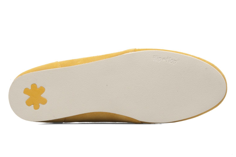 Chaussures à lacets Flipflop LENNI LO Jaune vue haut