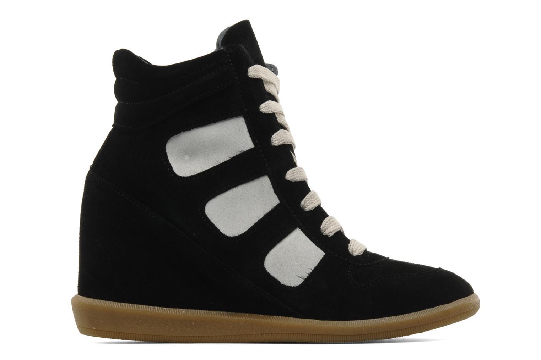 Sneaker Jonak Douveti schwarz ansicht von hinten