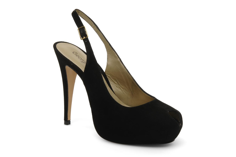 Sandalen Georgia Rose Tyler schwarz detaillierte ansicht/modell