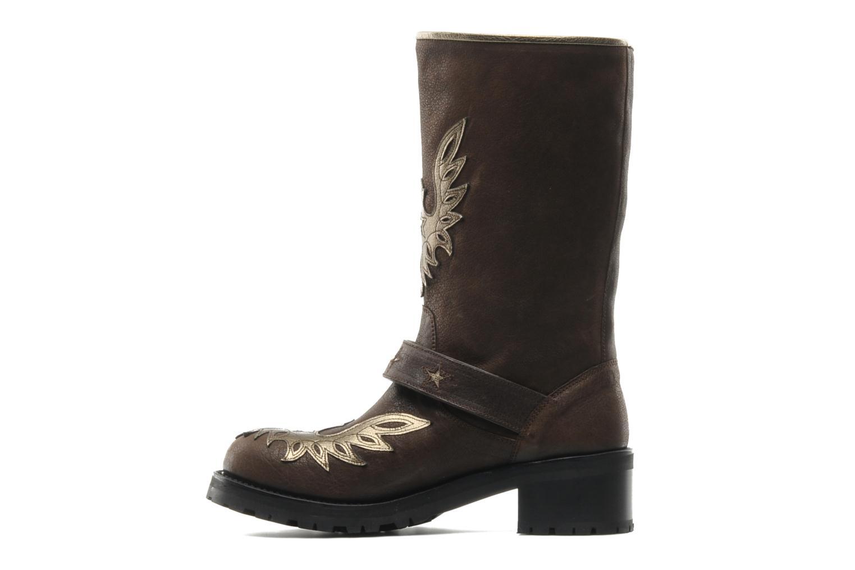 Bottines et boots Georgia Rose Perjane Marron vue face