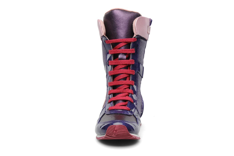 Ankle boots Agatha Ruiz de la Prada Divina Purple model view