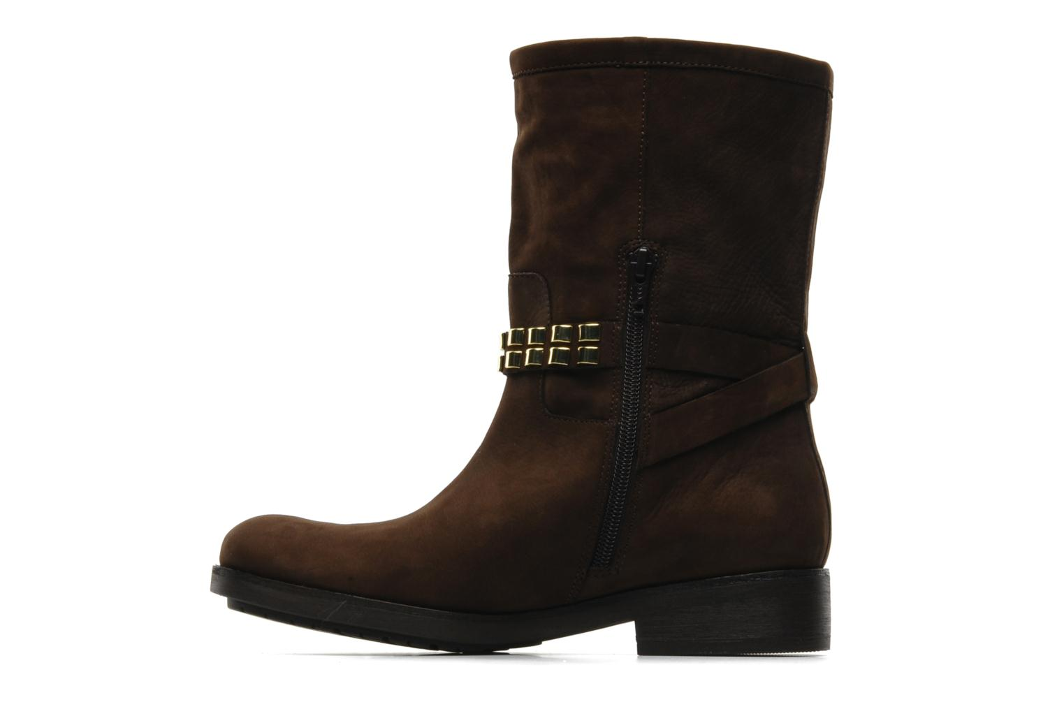Ankle boots Luciano Barachini Amla Brown front view