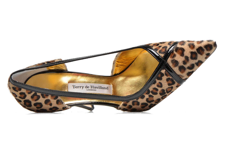 Zapatos de tacón Terry de Havilland MANDI Multicolor vista lateral izquierda