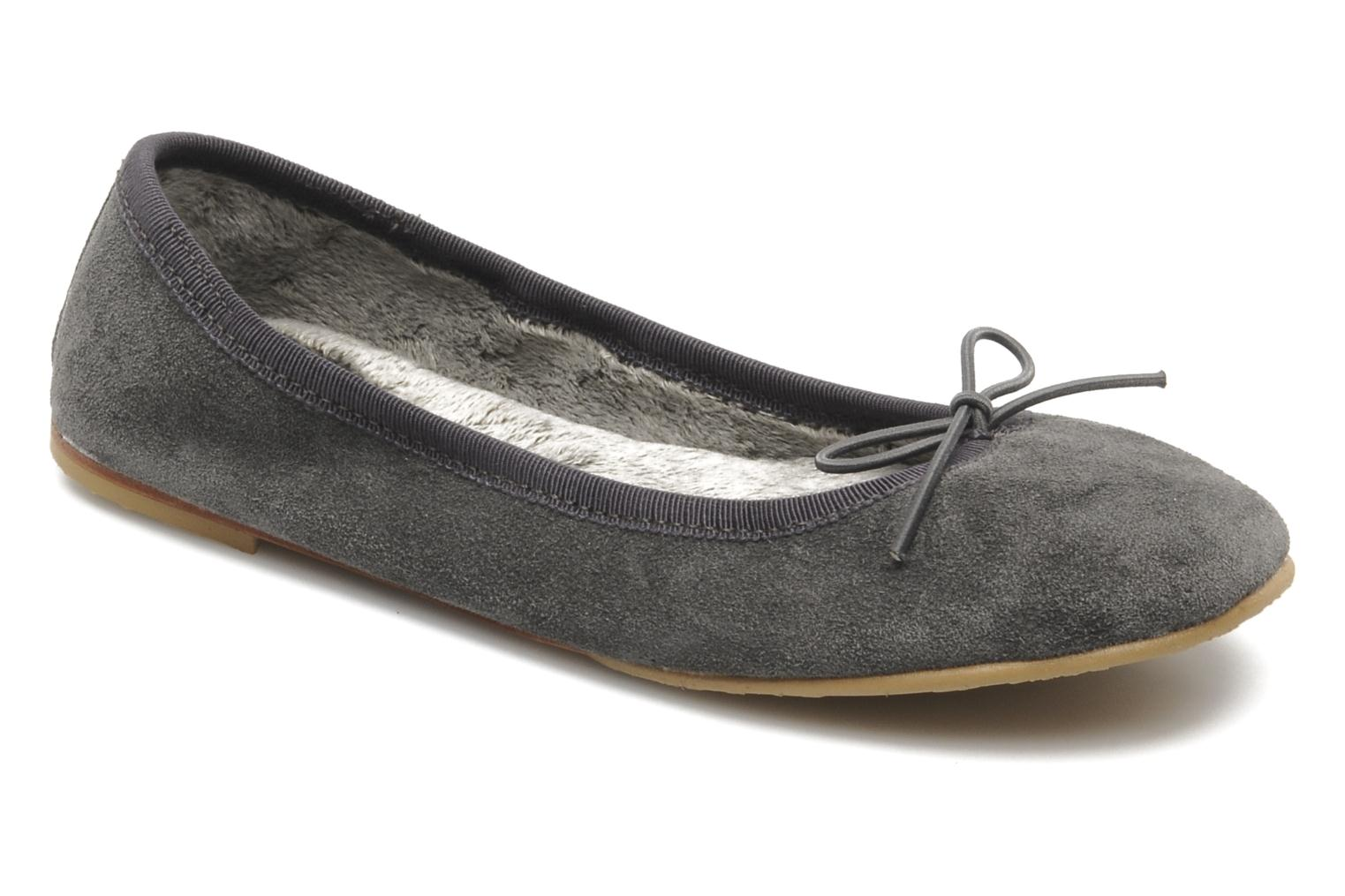 Ballerines Bloch girls mischa Gris vue détail/paire