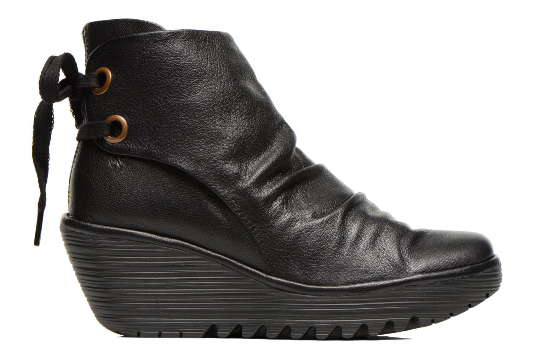 Bottines et boots Fly London Yama Noir vue derrière
