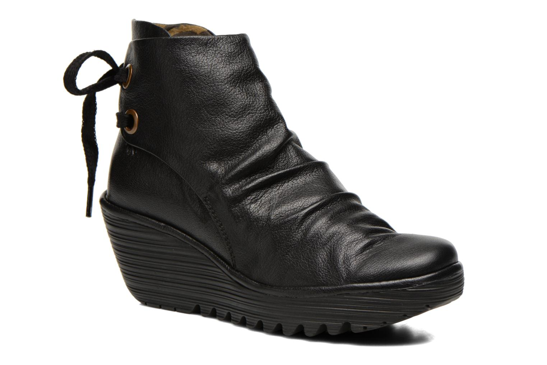 Grandes descuentos últimos zapatos Fly London Yama (Negro) - Botines  Descuento