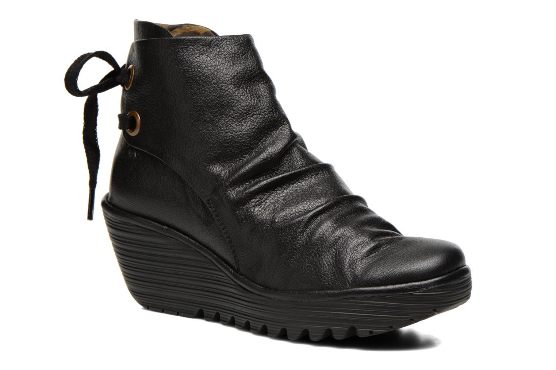 Stiefeletten & Boots Fly London Yama schwarz detaillierte ansicht/modell