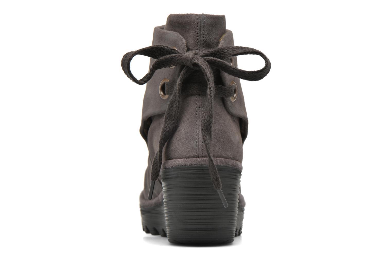 Bottines et boots Fly London Yama Gris vue droite