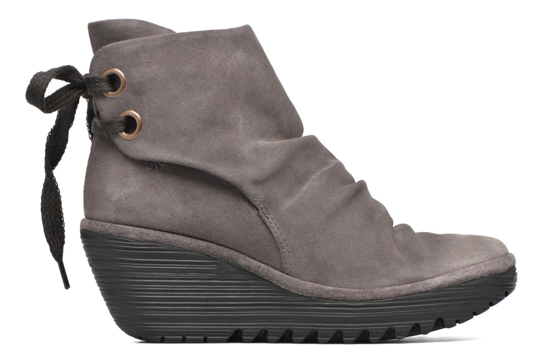 Bottines et boots Fly London Yama Gris vue derrière