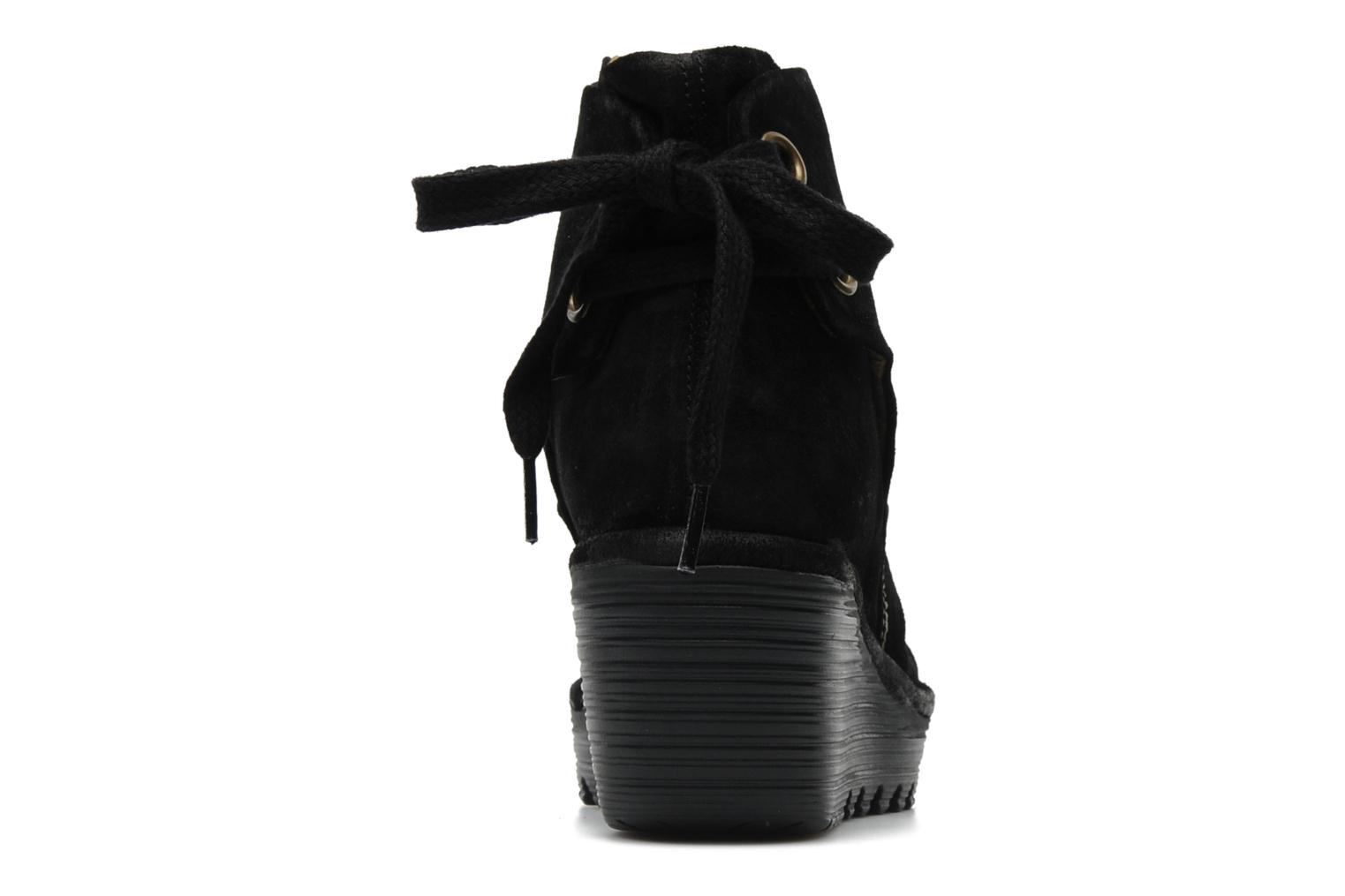 Yama Oil Suede Black