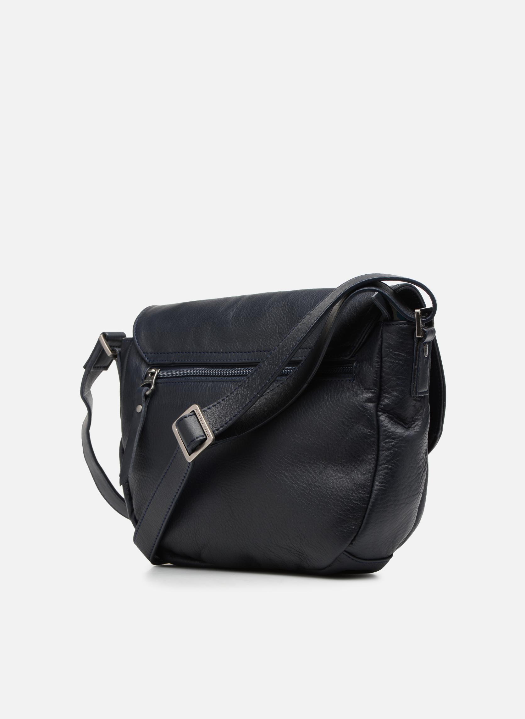 Handtaschen Sabrina Louison blau ansicht von rechts