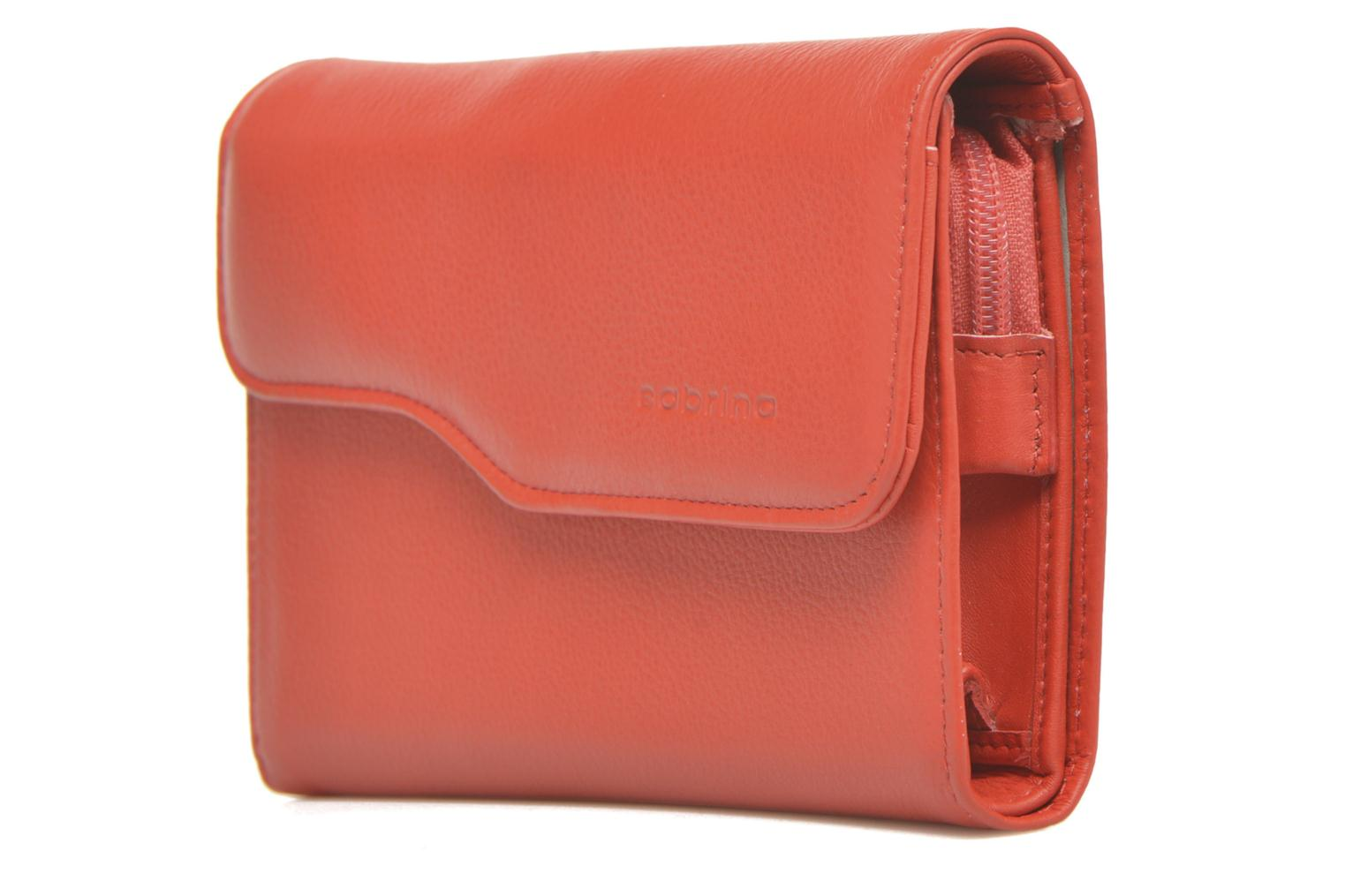 Wallets & cases Sabrina Zoé Red model view