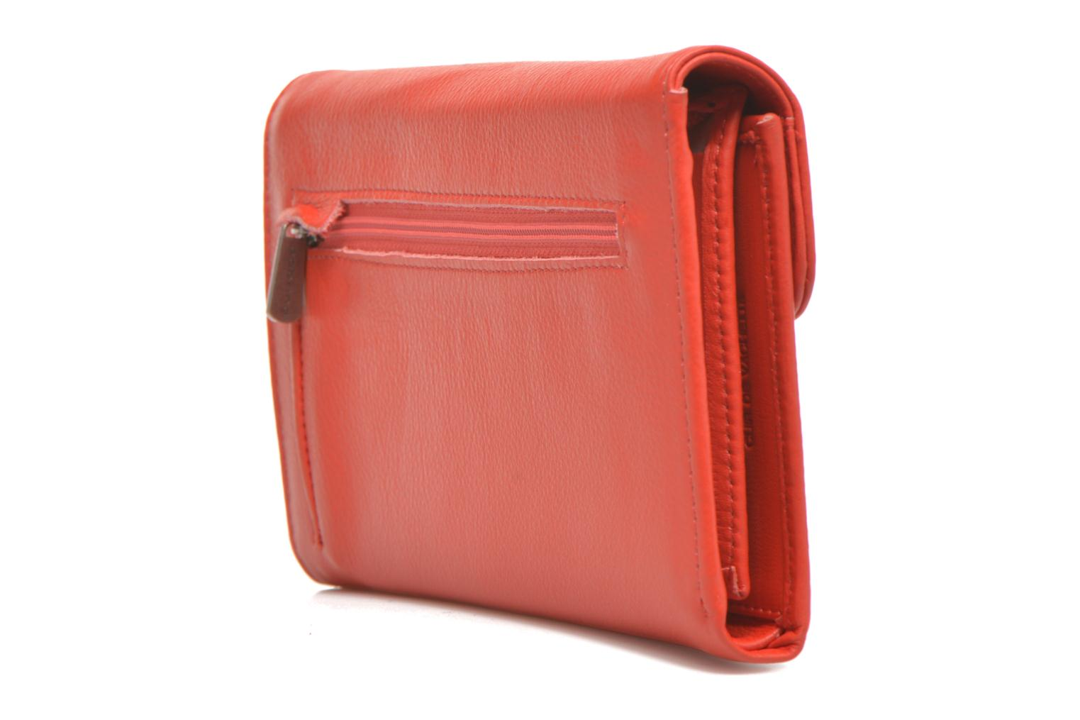 Wallets & cases Sabrina Zoé Red view from the right