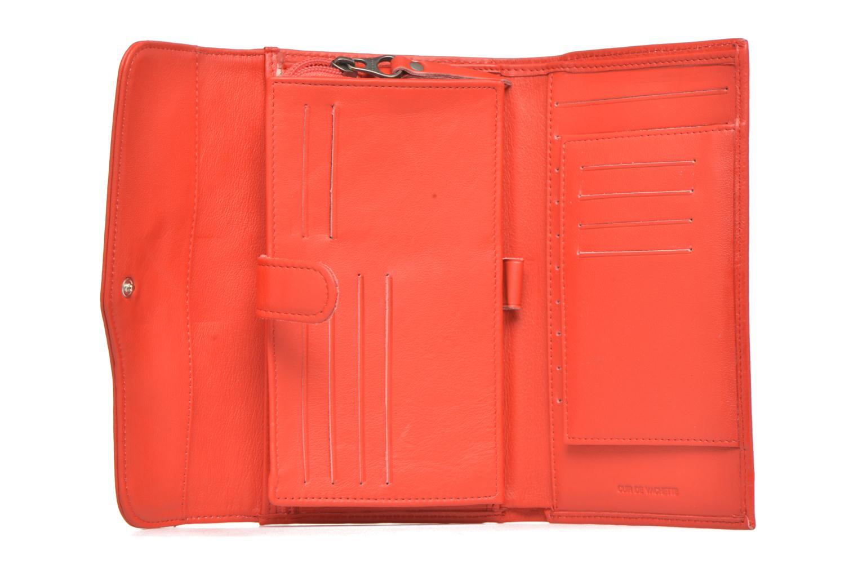 Portemonnaies & Clutches Sabrina Zoé rot ansicht von hinten